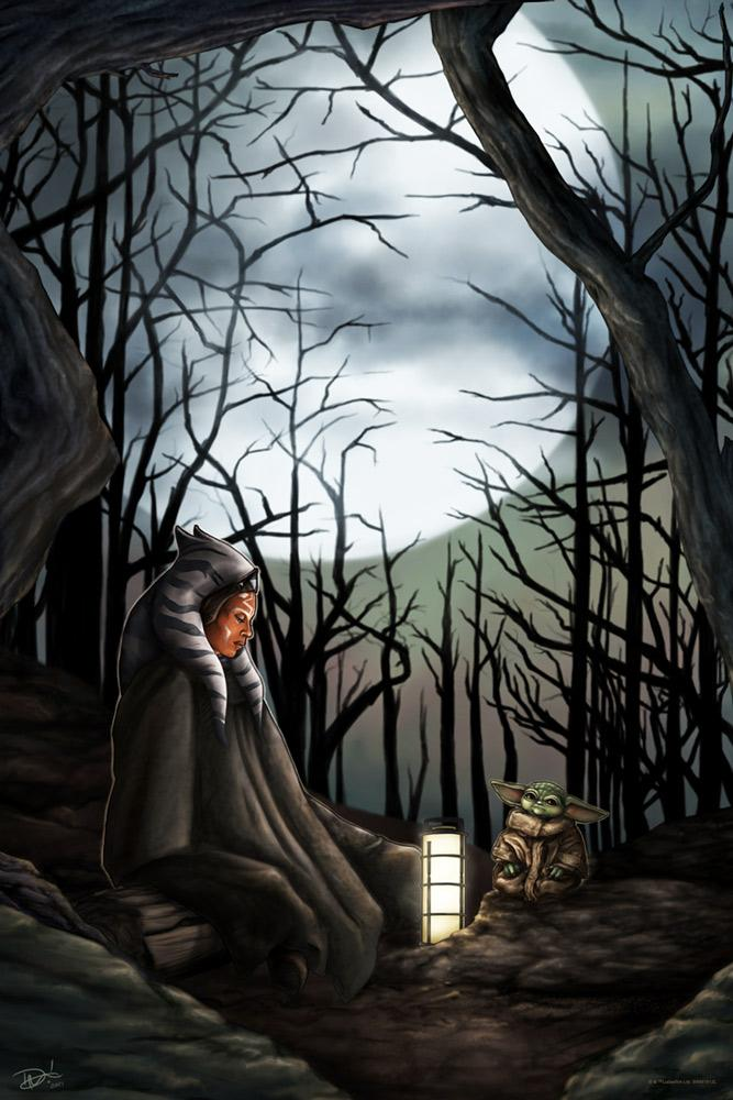 Communion In The Force - Artwork Star Wars - ACME Archives Commun10