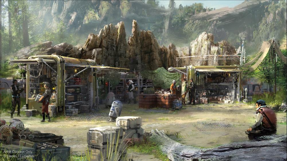 Les news Disney Star Wars: Galaxy's Edge aux Etats Unis (US) - Page 6 Concep10