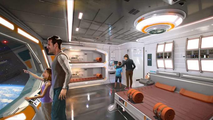 Star Wars Hotel - Disney Hollywood Studios Concep16