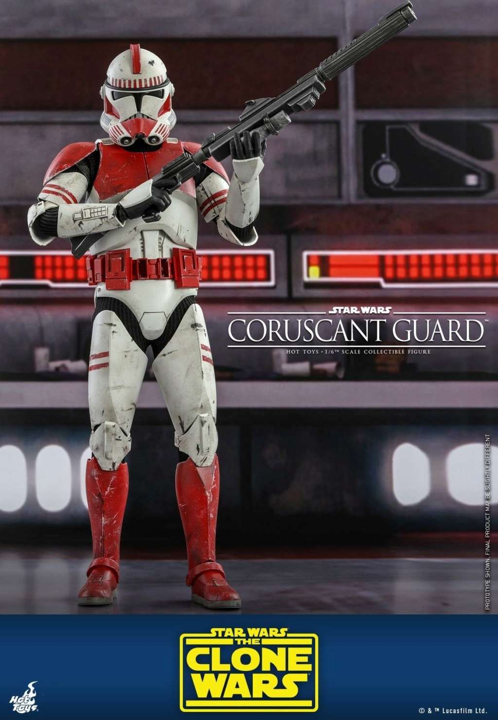 Coruscant Guard - 1/6th Figure - The Clone Wars - Hot Toys Corusc10