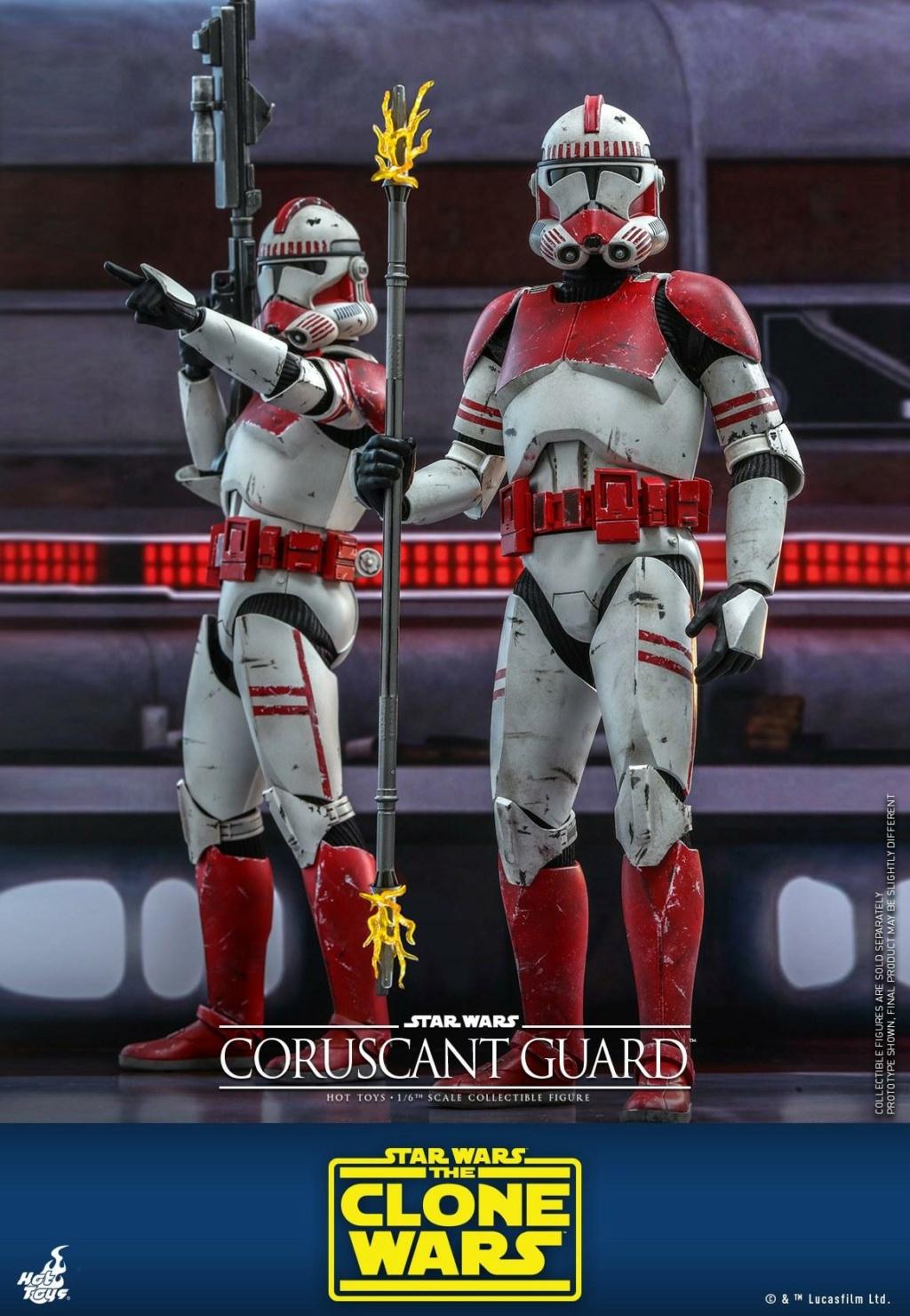 Coruscant Guard - 1/6th Figure - The Clone Wars - Hot Toys Corusc11