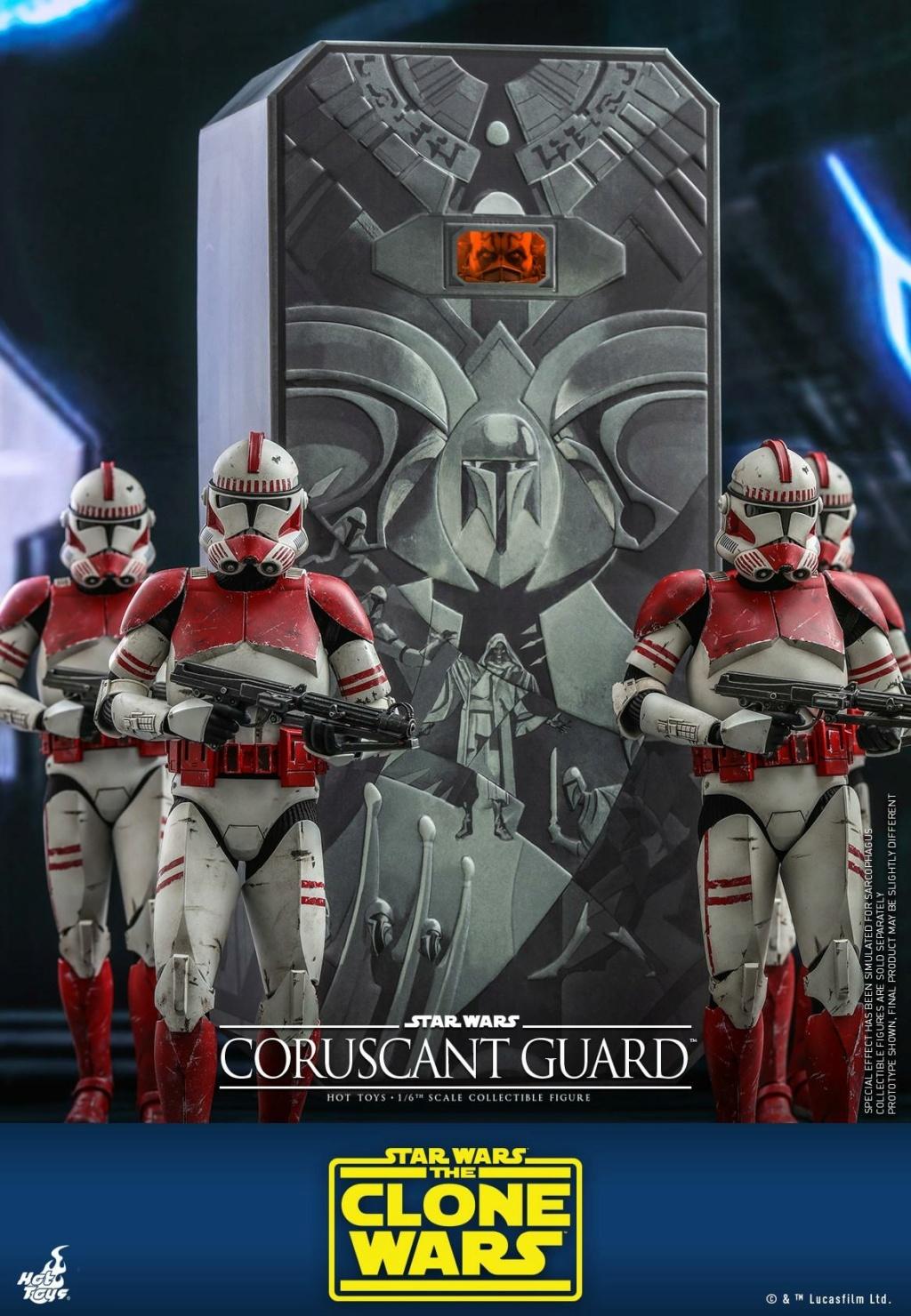 Coruscant Guard - 1/6th Figure - The Clone Wars - Hot Toys Corusc12