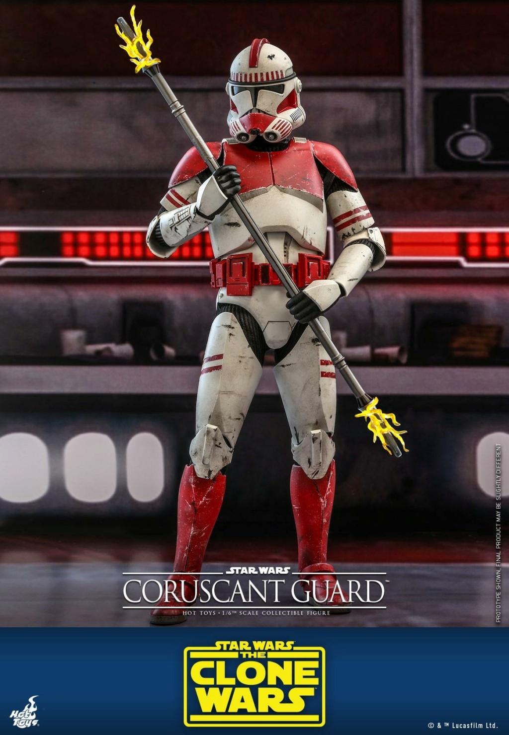 Coruscant Guard - 1/6th Figure - The Clone Wars - Hot Toys Corusc13