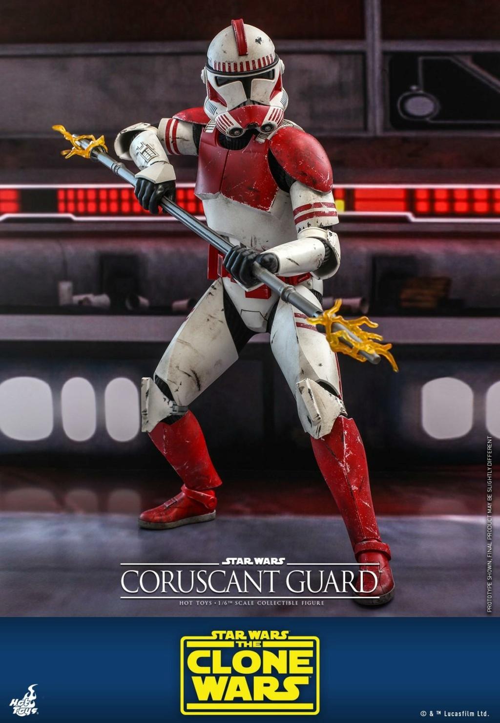 Coruscant Guard - 1/6th Figure - The Clone Wars - Hot Toys Corusc14