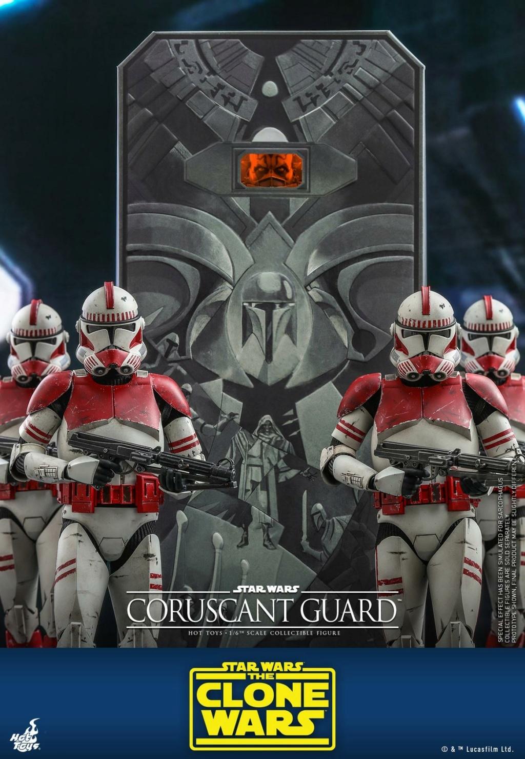 Coruscant Guard - 1/6th Figure - The Clone Wars - Hot Toys Corusc15
