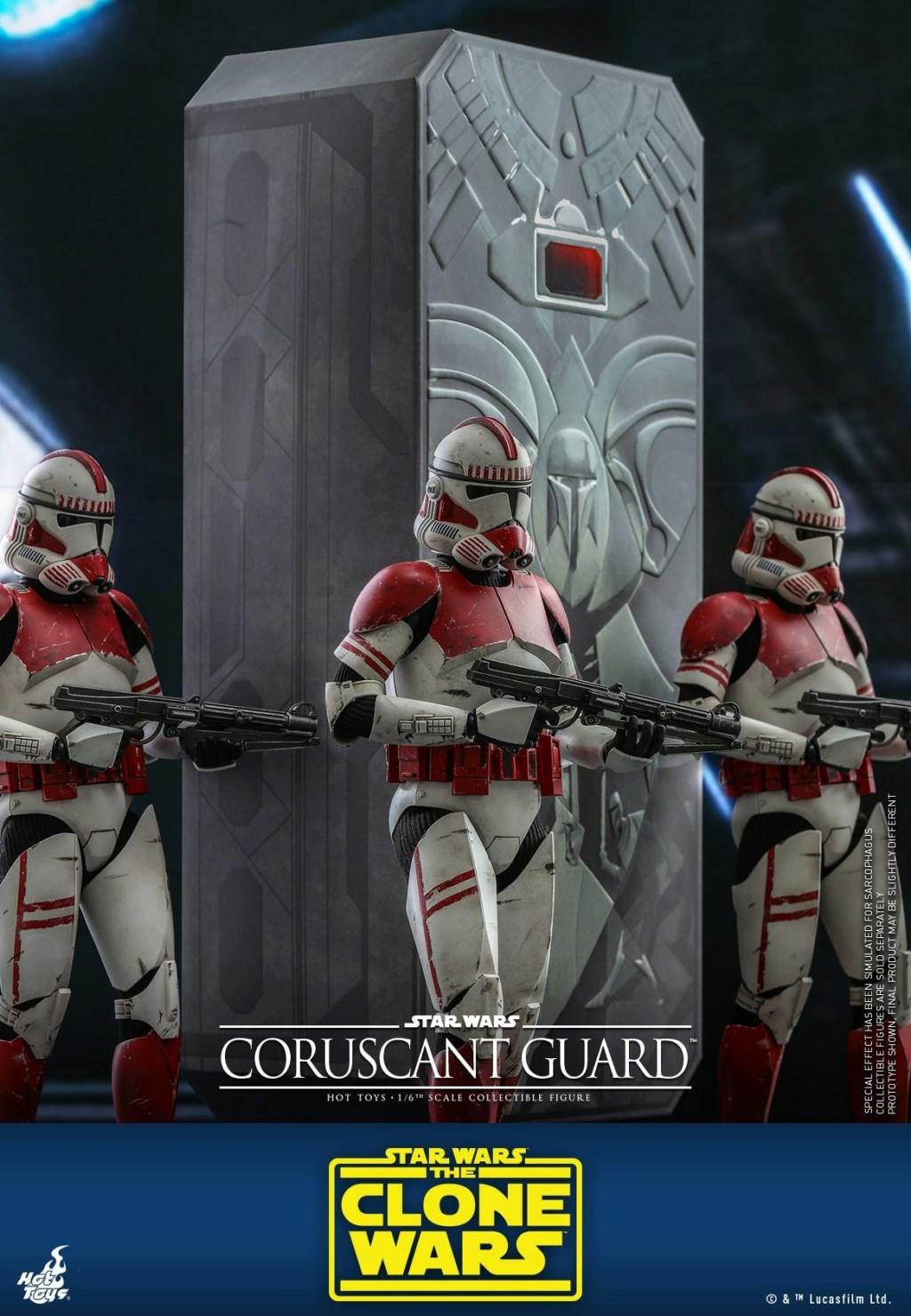 Coruscant Guard - 1/6th Figure - The Clone Wars - Hot Toys Corusc16