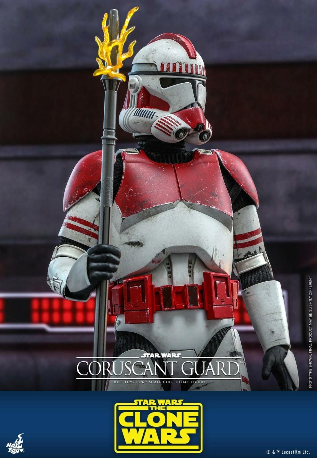 Coruscant Guard - 1/6th Figure - The Clone Wars - Hot Toys Corusc17