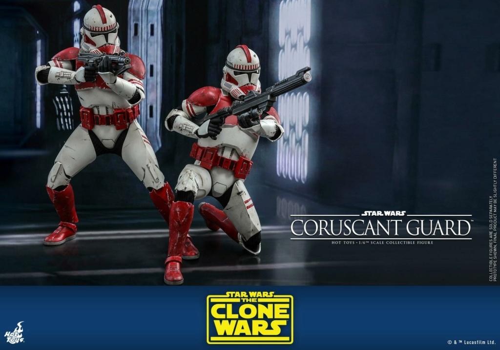 Coruscant Guard - 1/6th Figure - The Clone Wars - Hot Toys Corusc18