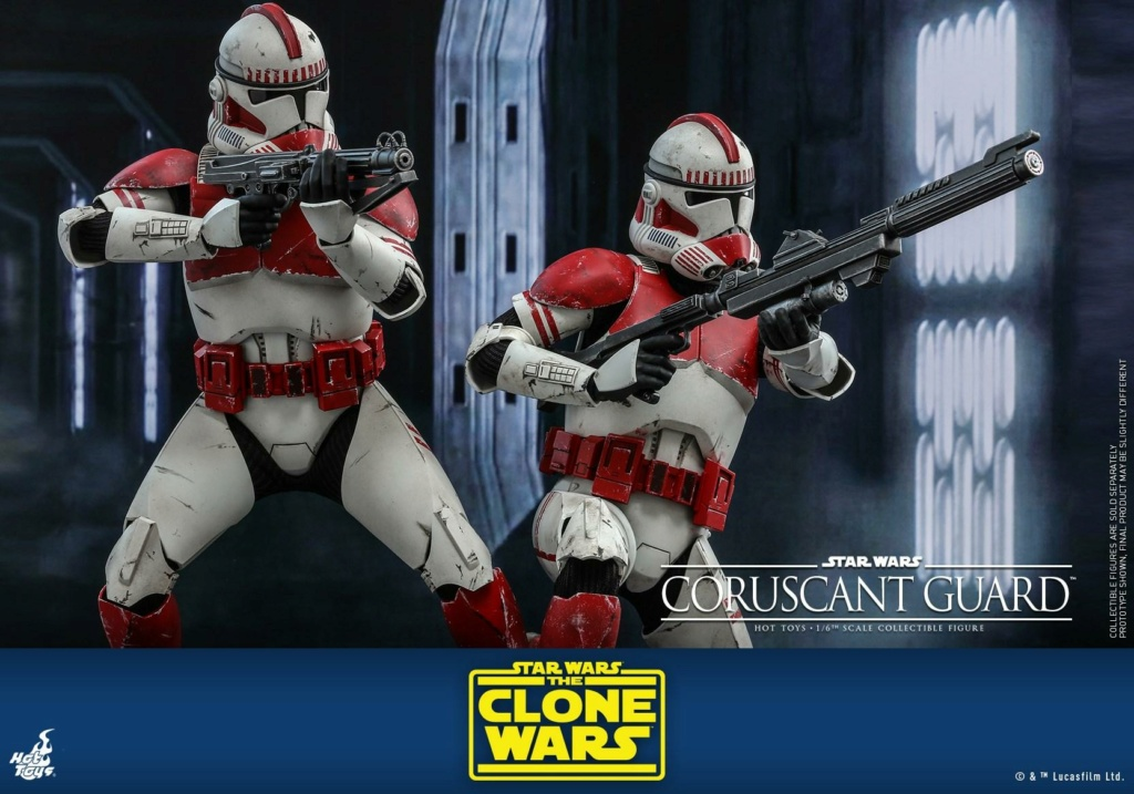 Coruscant Guard - 1/6th Figure - The Clone Wars - Hot Toys Corusc19