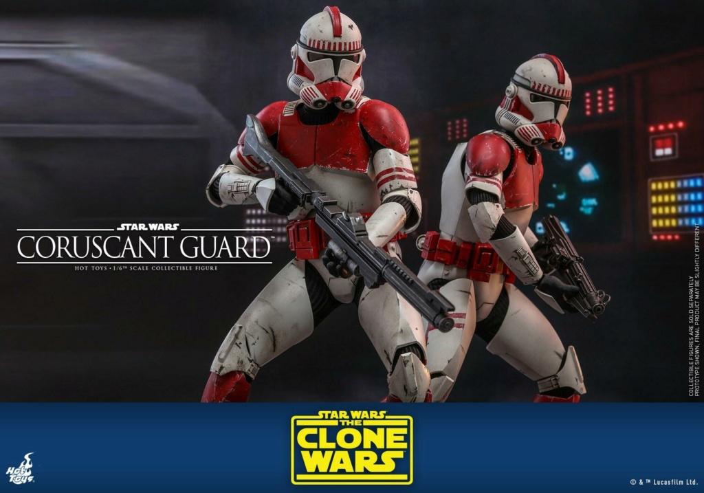 Coruscant Guard - 1/6th Figure - The Clone Wars - Hot Toys Corusc20