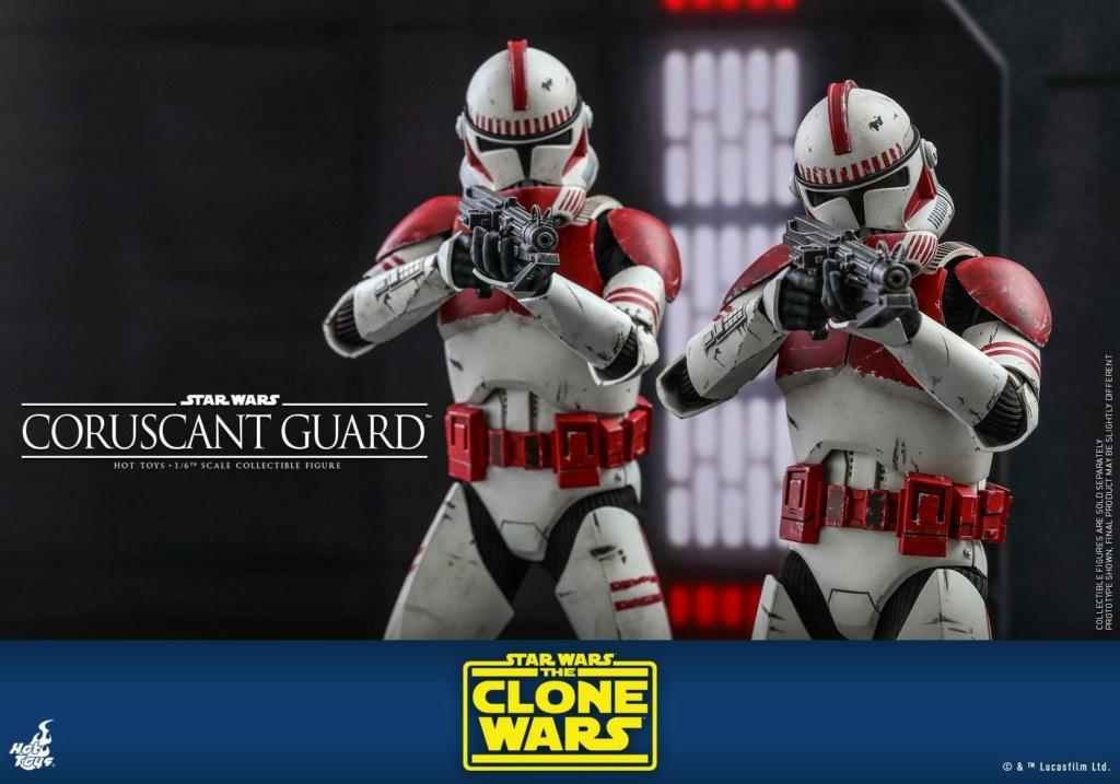 Coruscant Guard - 1/6th Figure - The Clone Wars - Hot Toys Corusc21