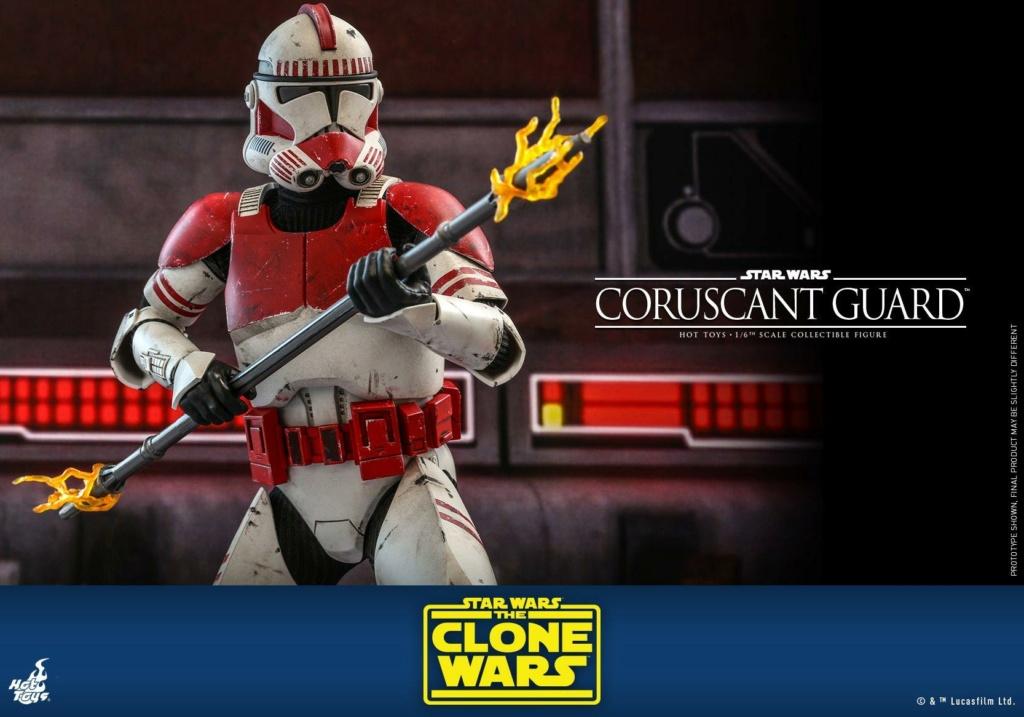 Coruscant Guard - 1/6th Figure - The Clone Wars - Hot Toys Corusc22