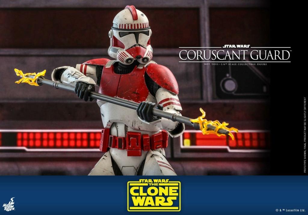 Coruscant Guard - 1/6th Figure - The Clone Wars - Hot Toys Corusc23