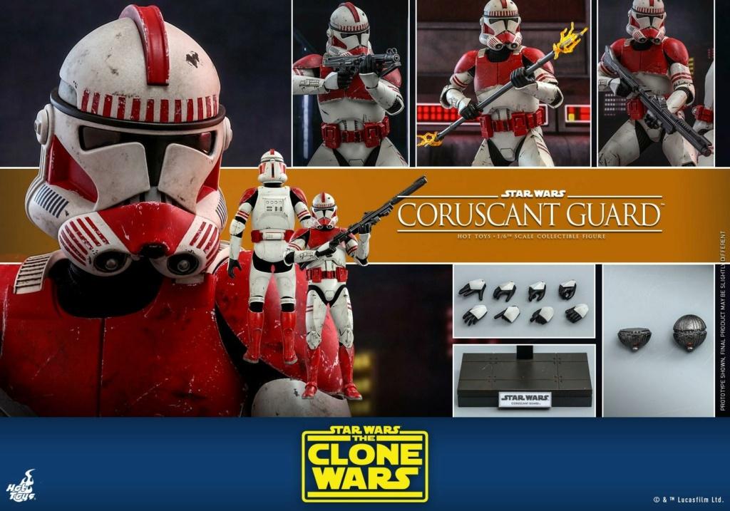 Coruscant Guard - 1/6th Figure - The Clone Wars - Hot Toys Corusc24