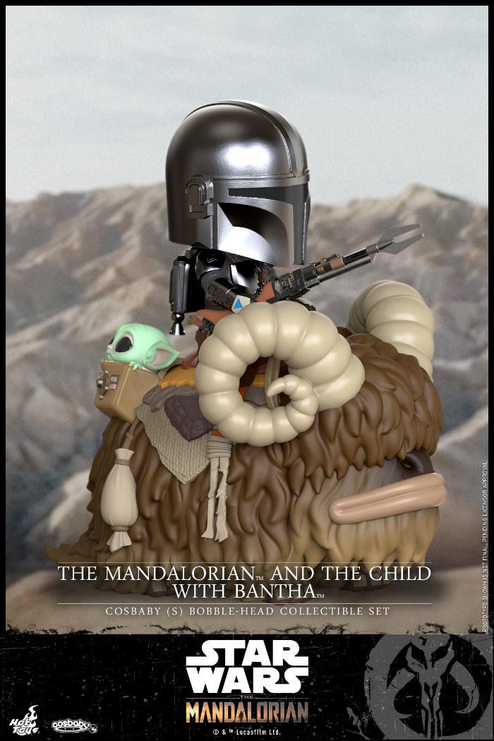 Star Wars The Mandalorian - Cosbaby Bobble-Head - Hot Toys Cosbab11