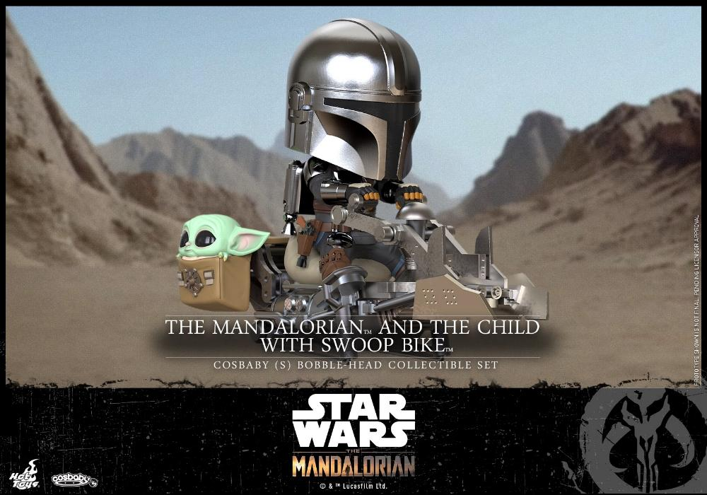 Star Wars The Mandalorian - Cosbaby Bobble-Head - Hot Toys Cosbab12