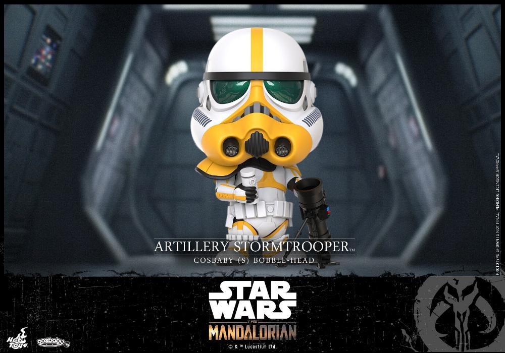 Star Wars The Mandalorian - Cosbaby Bobble-Head - Hot Toys Cosbab13