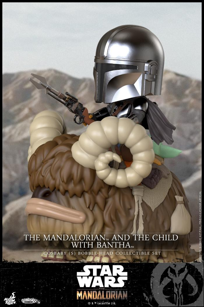 Star Wars The Mandalorian - Cosbaby Bobble-Head - Hot Toys Cosbab15
