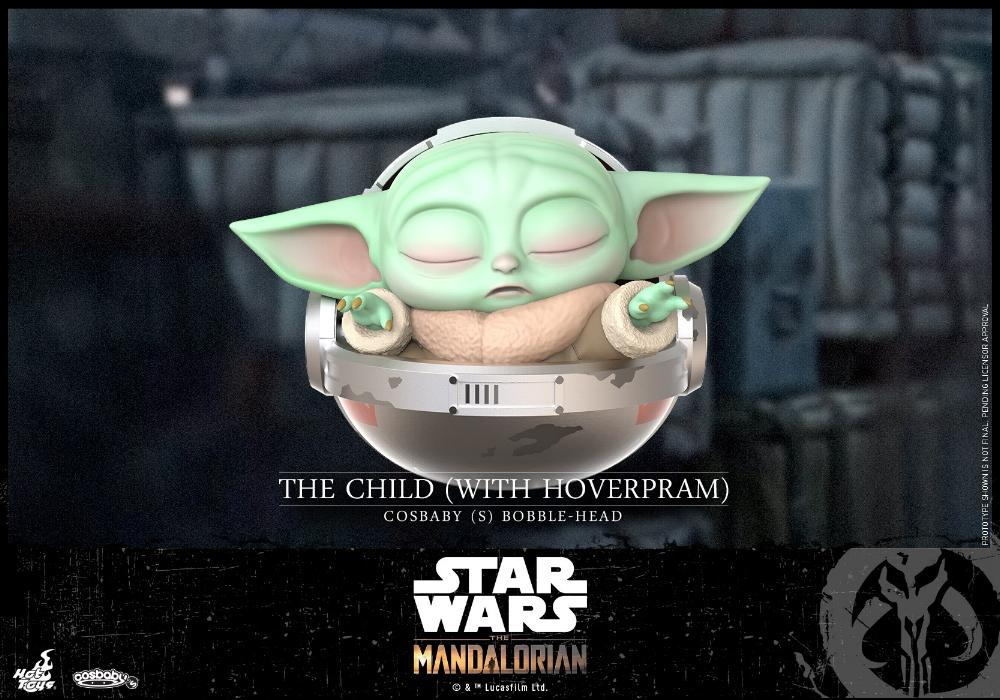 Star Wars The Mandalorian - Cosbaby Bobble-Head - Hot Toys Cosbab18