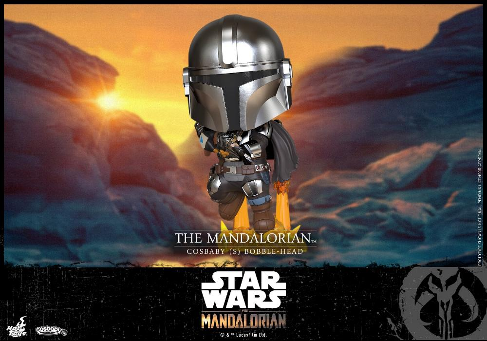 Star Wars The Mandalorian - Cosbaby Bobble-Head - Hot Toys Cosbab20