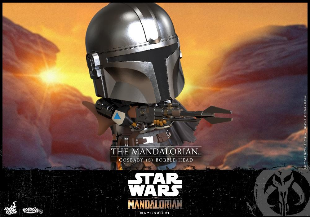 Star Wars The Mandalorian - Cosbaby Bobble-Head - Hot Toys Cosbab21