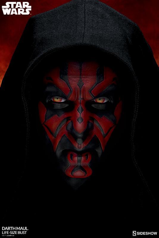 Sideshow Collectibles - Star Wars Darth Maul Life-Size Bust Dark_m11