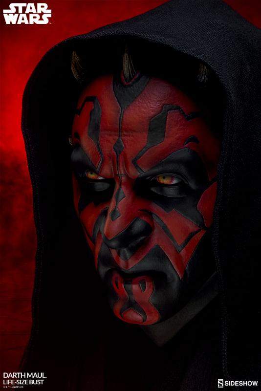 Sideshow Collectibles - Star Wars Darth Maul Life-Size Bust Dark_m12
