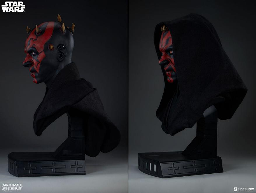 Sideshow Collectibles - Star Wars Darth Maul Life-Size Bust Dark_m15