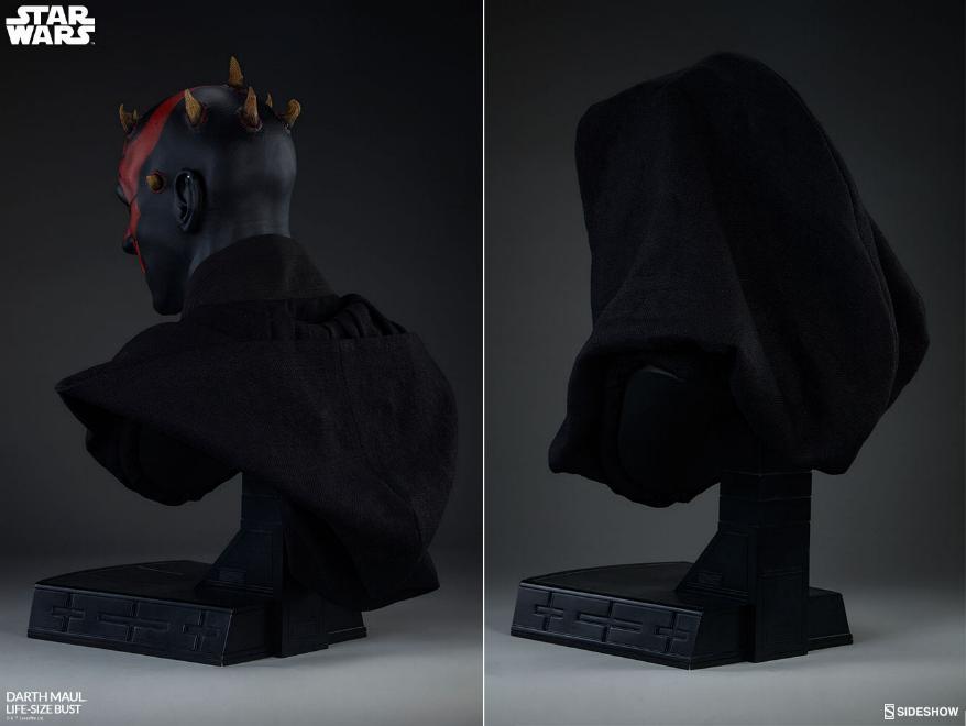 Sideshow Collectibles - Star Wars Darth Maul Life-Size Bust Dark_m16