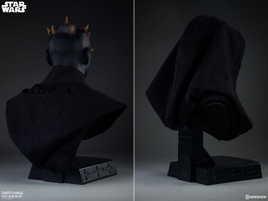 Sideshow Collectibles - Star Wars Darth Maul Life-Size Bust Dark_m18