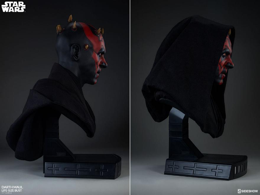 Sideshow Collectibles - Star Wars Darth Maul Life-Size Bust Dark_m19