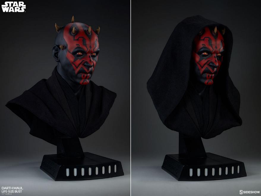 Sideshow Collectibles - Star Wars Darth Maul Life-Size Bust Dark_m20