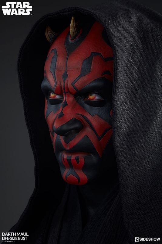 Sideshow Collectibles - Star Wars Darth Maul Life-Size Bust Dark_m22