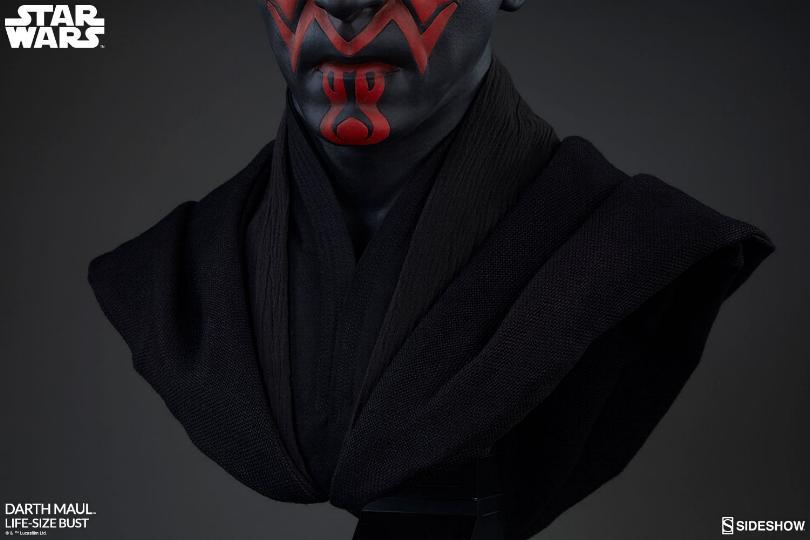Sideshow Collectibles - Star Wars Darth Maul Life-Size Bust Dark_m25