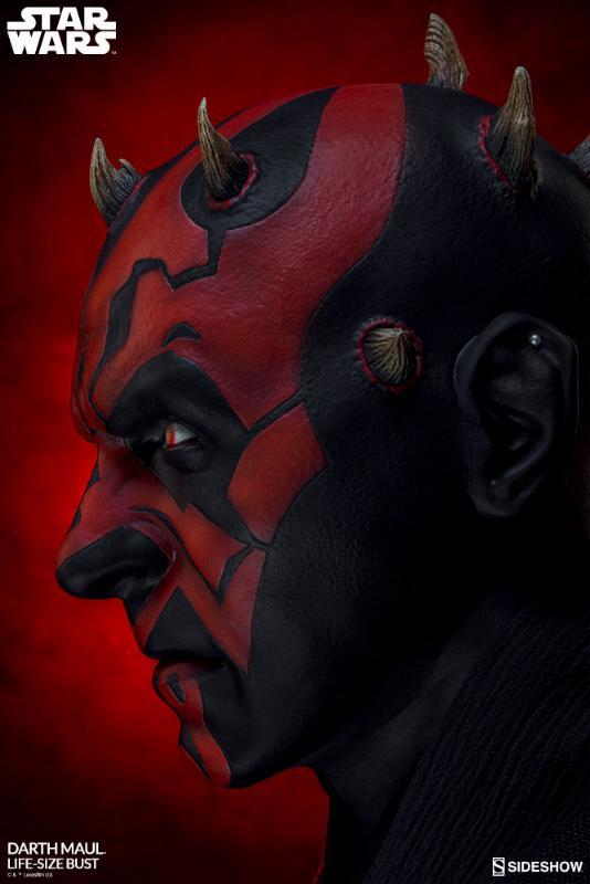 Sideshow Collectibles - Star Wars Darth Maul Life-Size Bust Dark_m28