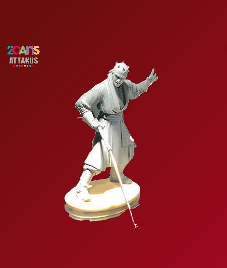 ATTAKUS - Star Wars Elite Collection 1/10 Darth Maul Statue Dark_m30