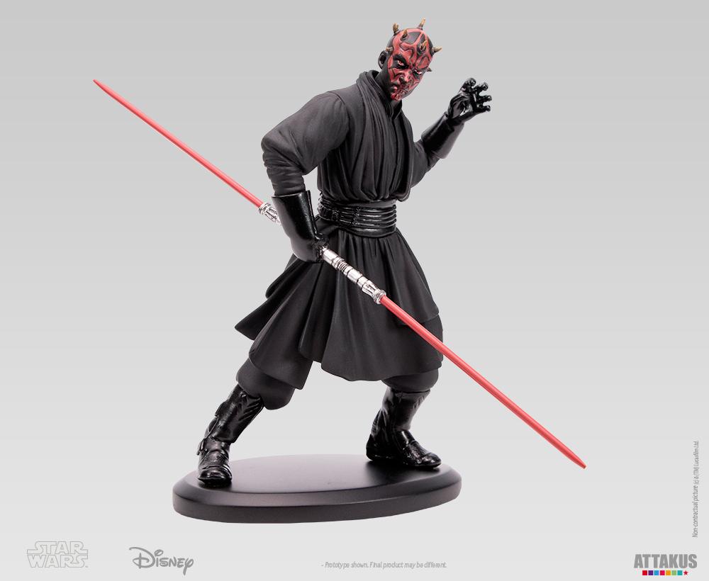 ATTAKUS - Star Wars Elite Collection 1/10 Darth Maul Statue Dark_m31