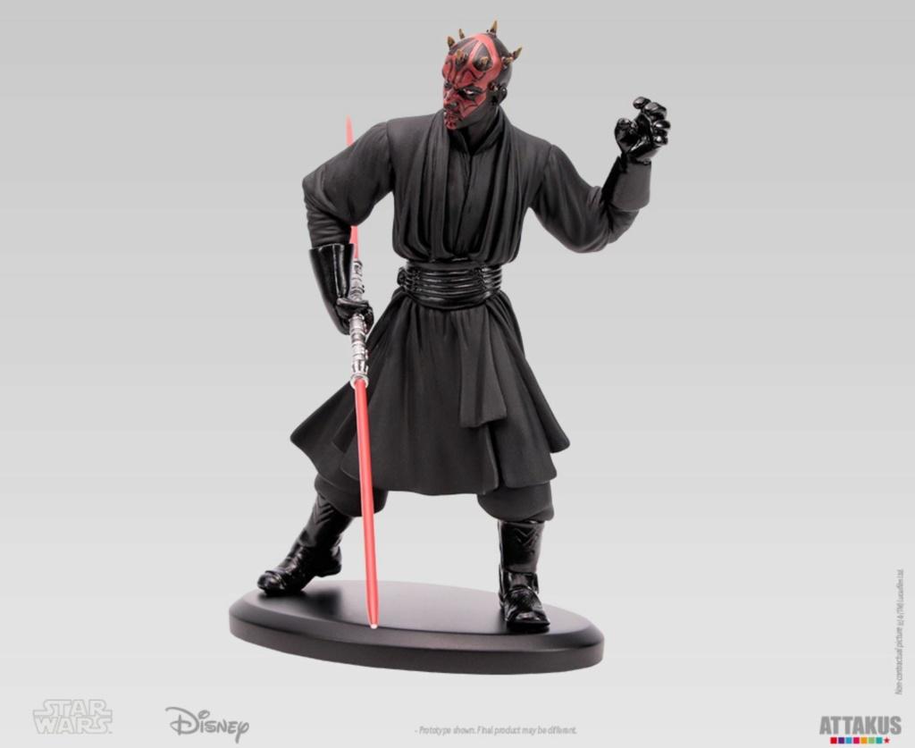 ATTAKUS - Star Wars Elite Collection 1/10 Darth Maul Statue Dark_m32