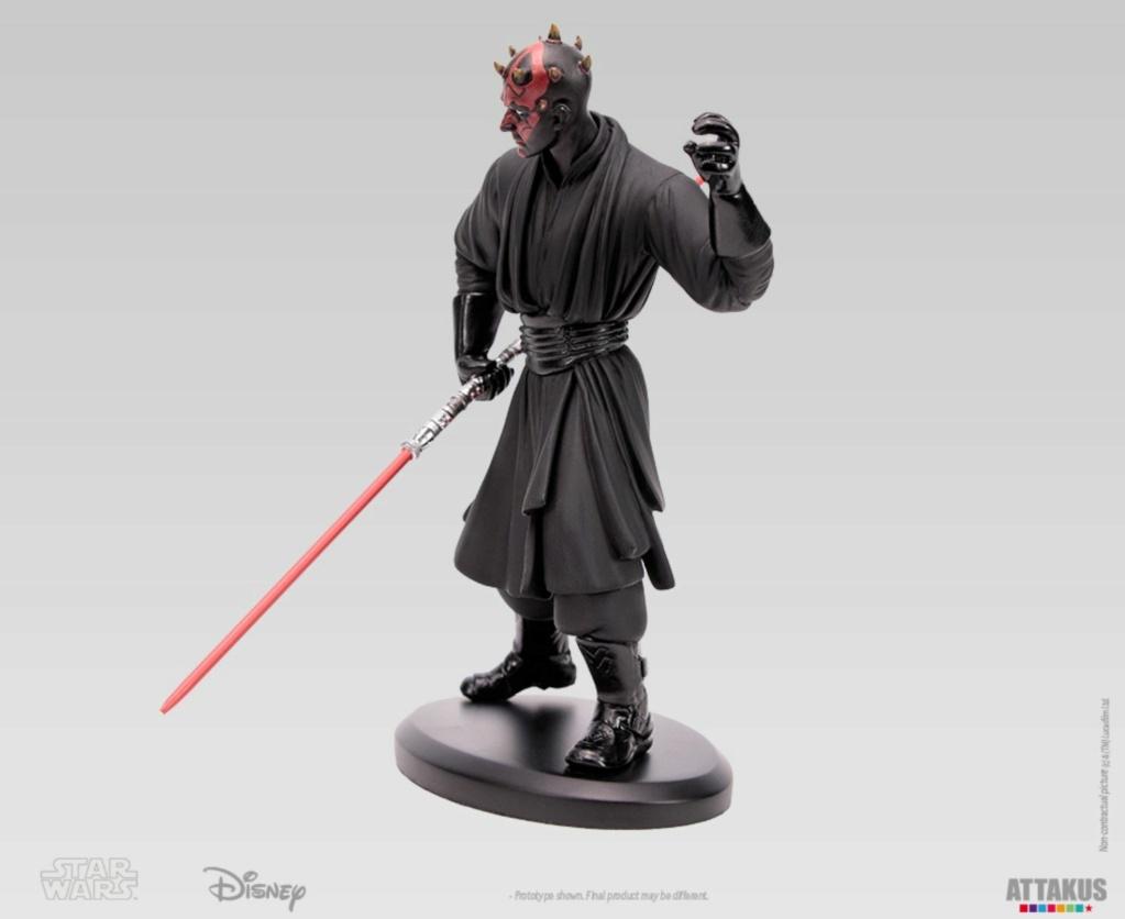 ATTAKUS - Star Wars Elite Collection 1/10 Darth Maul Statue Dark_m33