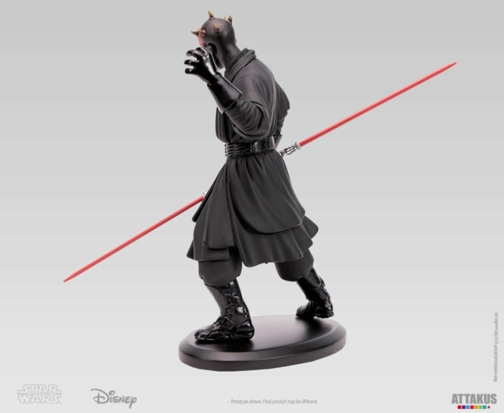 ATTAKUS - Star Wars Elite Collection 1/10 Darth Maul Statue Dark_m34