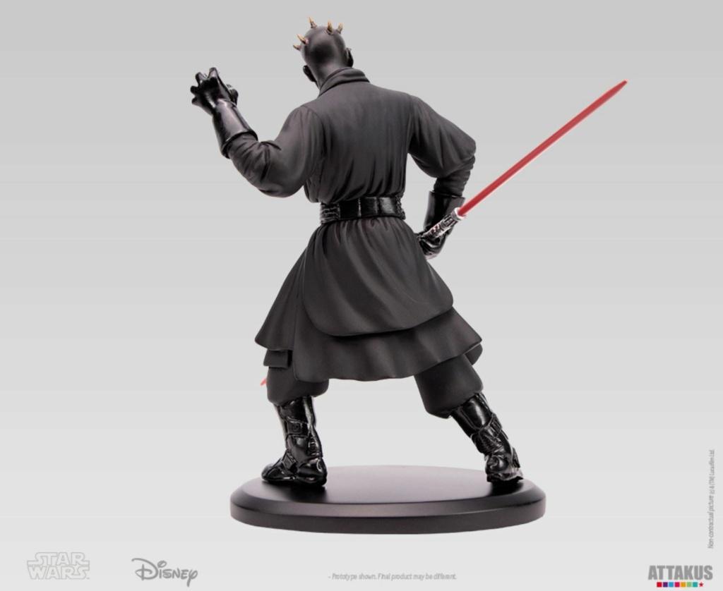ATTAKUS - Star Wars Elite Collection 1/10 Darth Maul Statue Dark_m35