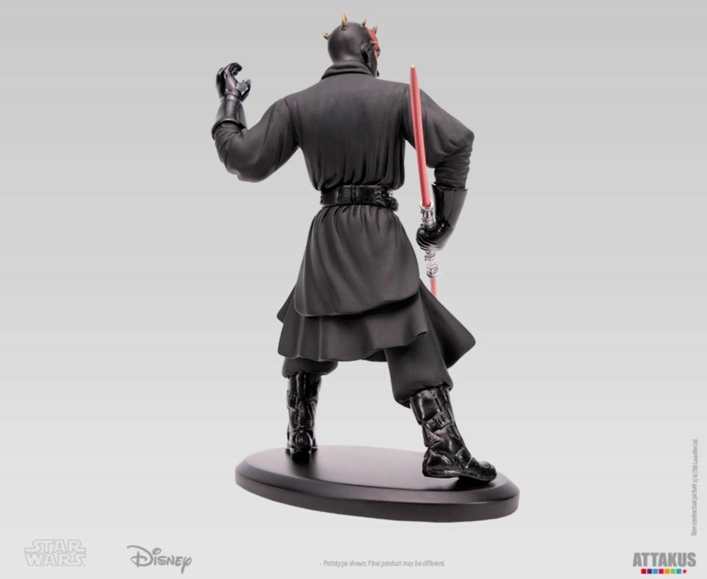 ATTAKUS - Star Wars Elite Collection 1/10 Darth Maul Statue Dark_m36