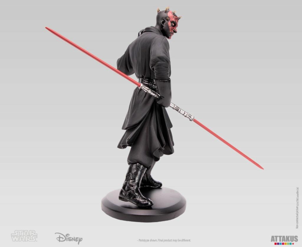 ATTAKUS - Star Wars Elite Collection 1/10 Darth Maul Statue Dark_m37
