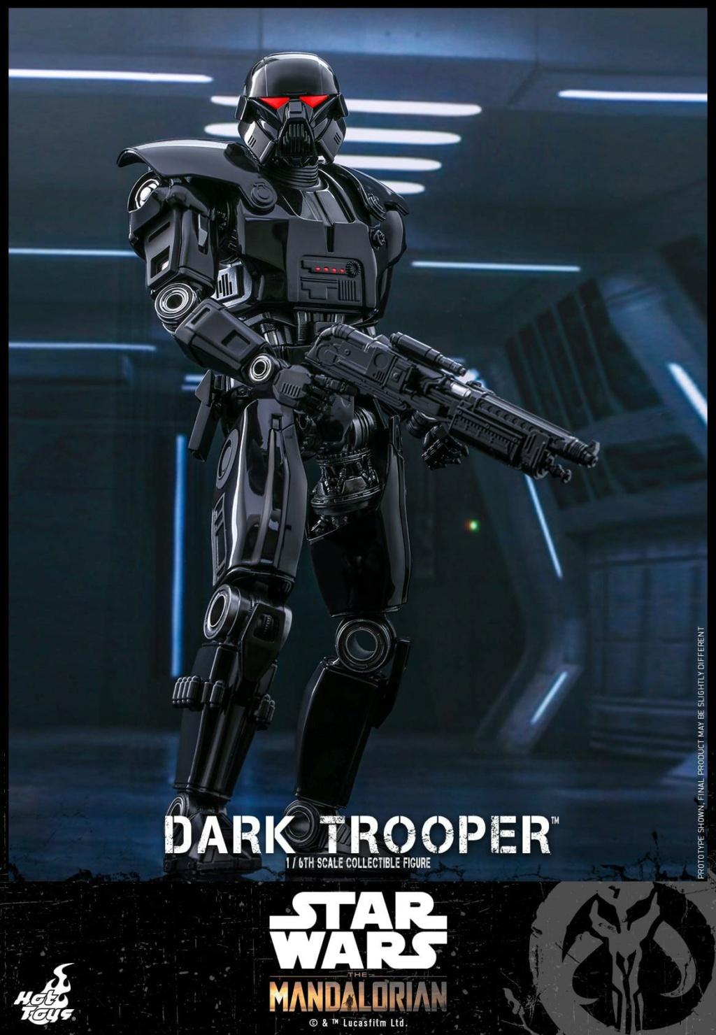 Dark Trooper Collectible Figure - 1/6th scale - Hot Toys Dark_t12