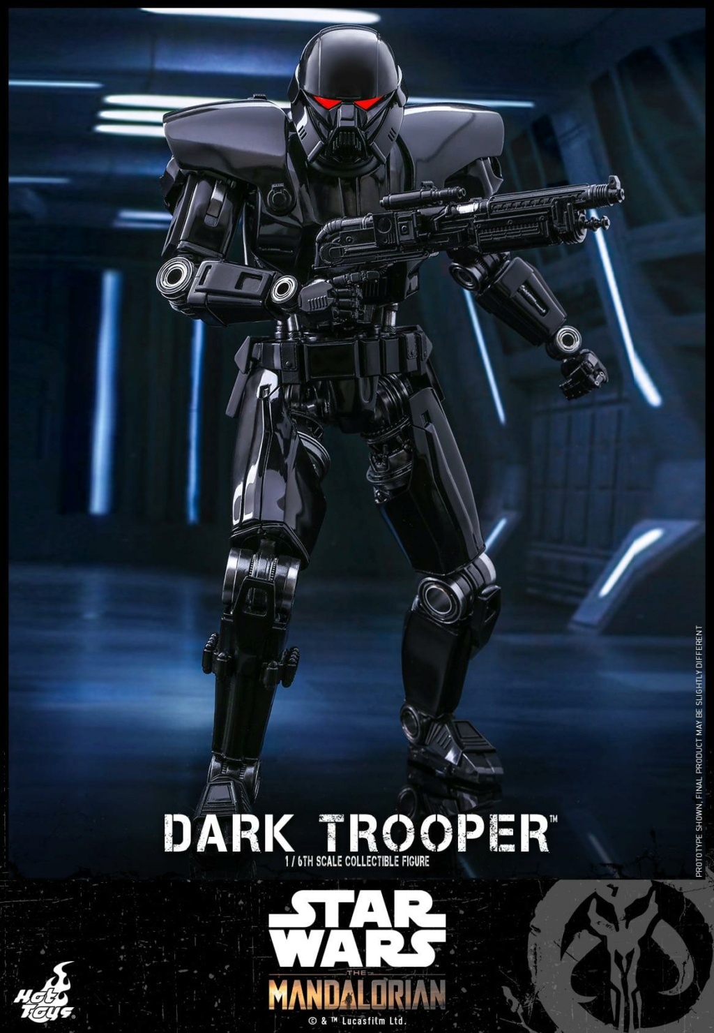 Dark Trooper Collectible Figure - 1/6th scale - Hot Toys Dark_t13