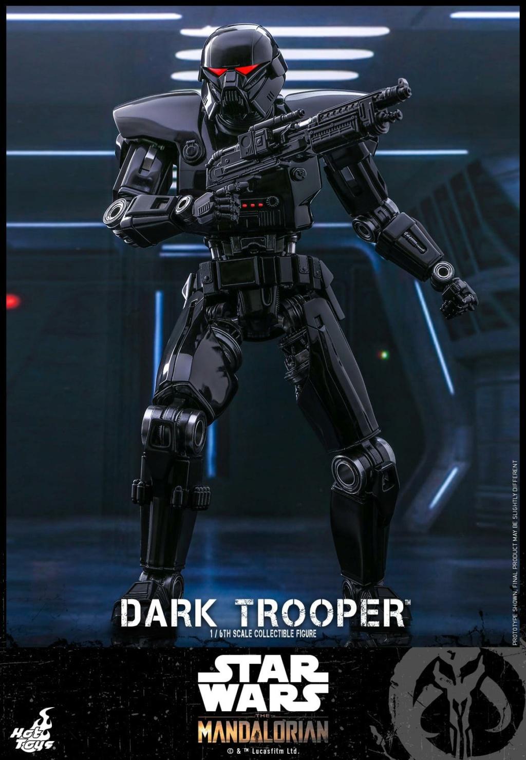 Dark Trooper Collectible Figure - 1/6th scale - Hot Toys Dark_t14