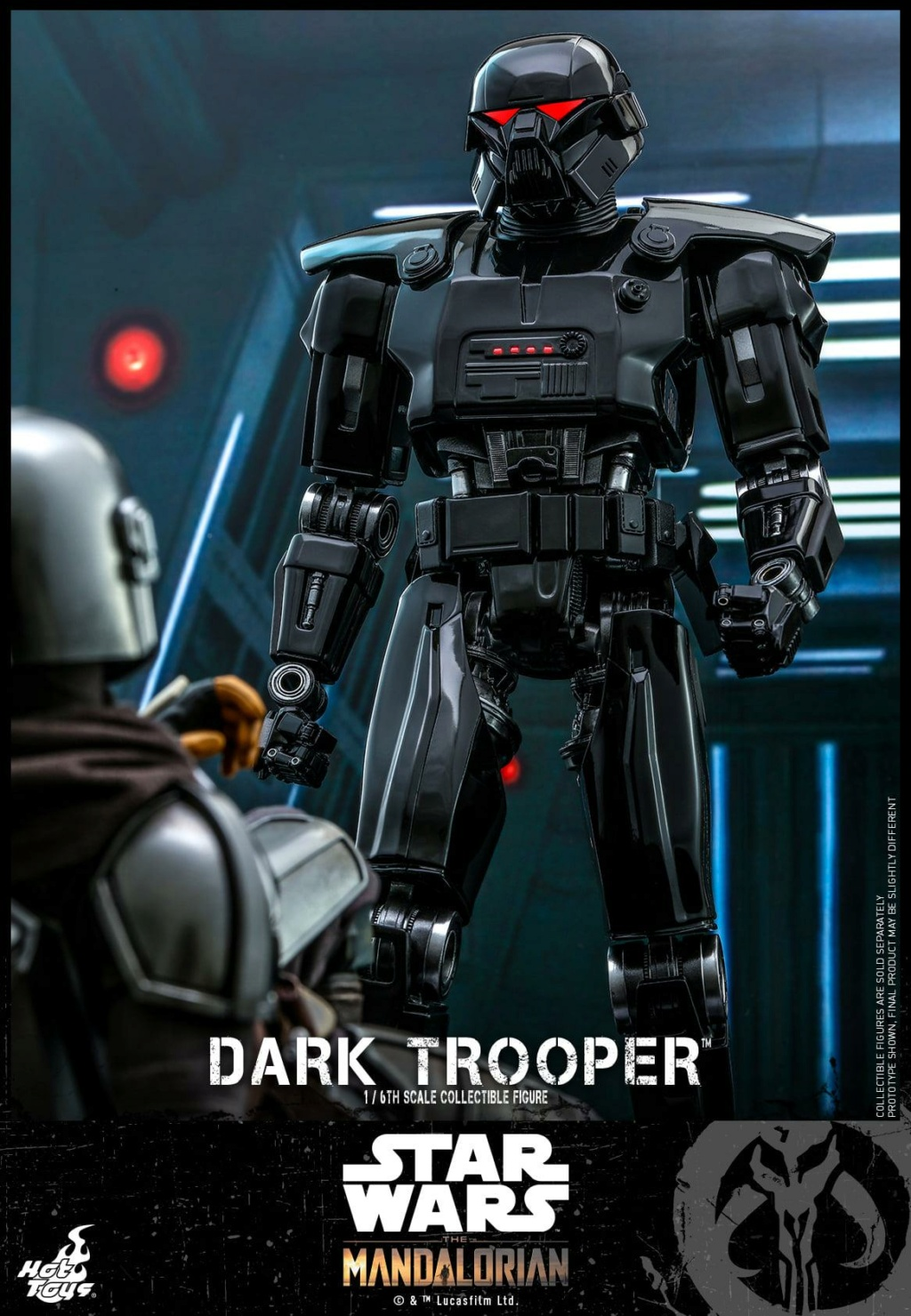 Dark Trooper Collectible Figure - 1/6th scale - Hot Toys Dark_t15