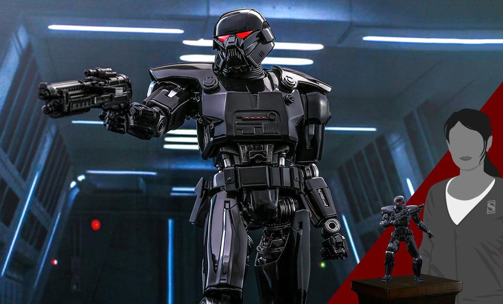 Dark Trooper Collectible Figure - 1/6th scale - Hot Toys Dark_t28