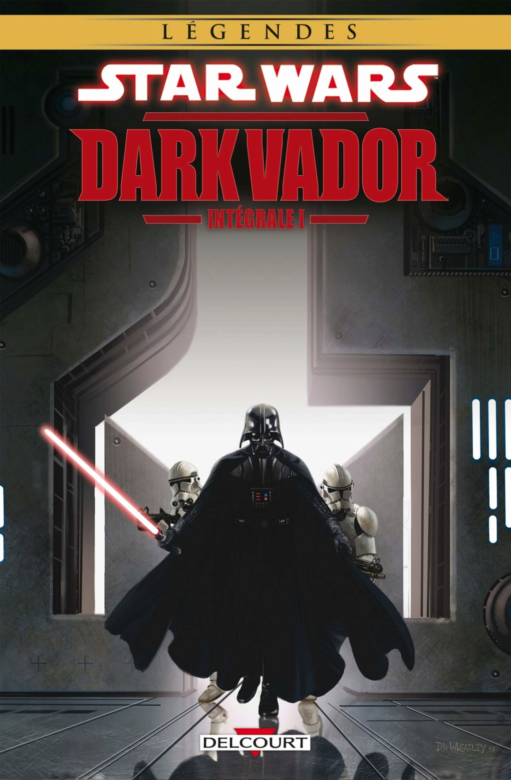 Star Wars - Dark Vador Intégrale Volume I - DELCOURT Dark_v11