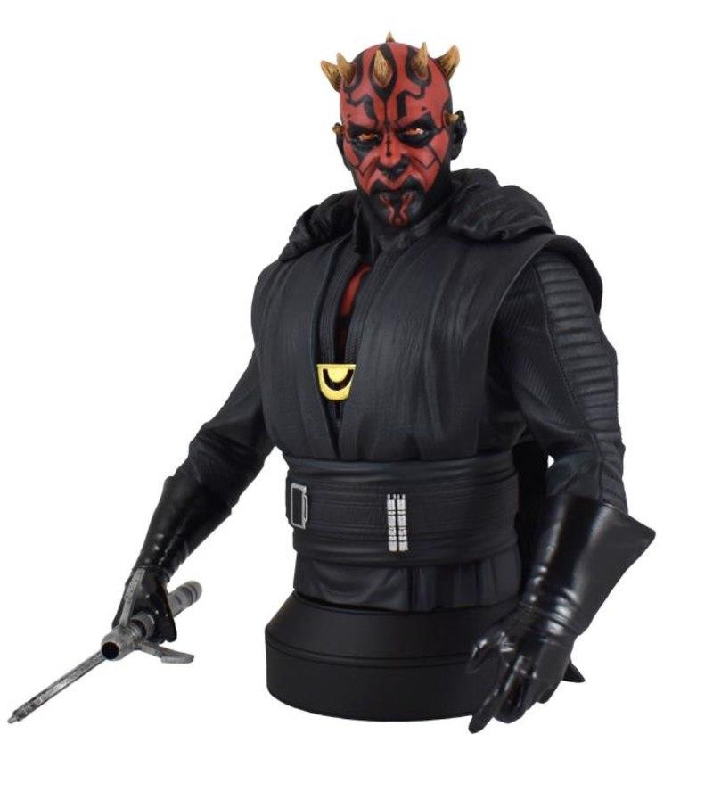 Dark Maul Solo A StarWars Story Mini Bust - Gentle Giant Darth-11